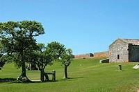 Landscape with the Stable, La Corunija, Uruguai