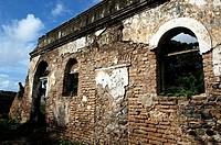 Ruinas de Casarão, Fernando de Noronha, Pernambuco, Brazil