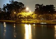Ibirapuera Park, night, São Paulo, Brazil