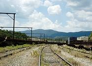 Railroad, Railways, Paranapiacaba, São Paulo, Brazil