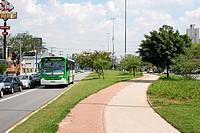 Avenue Edgar Facó with Avenue Ministro Petrônio Portela, Freguesia do Ó, São Paulo, Brazil