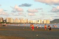 Beach, Santos, São Paulo, Brazil