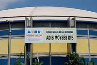Gym Adib Moysés Dib, São Bernardo do Campo, São Paulo, Brazil