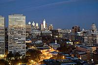 USA, Pennsylvania, Philadelphia, Downtown, Old City and Independence National Historic Park