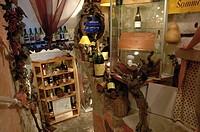 France - Provence-Alpes-Côte d'Azur Region - Saint-Paul-de-Vence. Typical products shop, interior