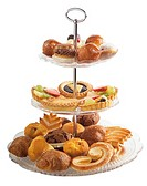 Still life: Pastry tiers