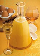 Wine and Spirits: Eggnog ´Zabaione´ liquor