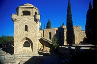 Greece _ Dodecanese Islands _ Rhodes. Monastery of Filerimos at Ialysos Trianda