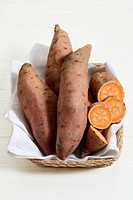 Still life: Sweet potato