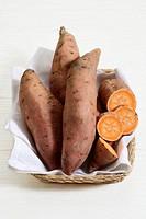 Still life: Sweet potato