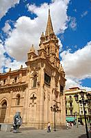 St. John's church, Salamanca. Castilla-Leon, Spain