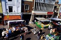 Street Market Surrey Street Croydon Surrey England