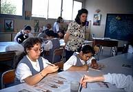 Abu Dhabi UAE School Classroom Al Warood School