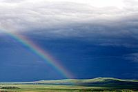 europe, romania, transylvania, rainbow