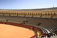 europe, spain, andalusia, seville, plaza de toros