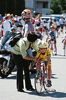 cycling, children
