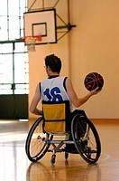wheelchair basket