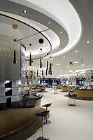 HARVEY NICHOLS DEPARTMENT STORE, KANYON SHOPPING MALL, ISTANBUL, TURKEY, FOUR IV DESIGN, INTERIOR, INTERIOR OF THE MAKEUP AND COSMETICS AREA ON THE LO...