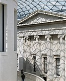 BRITISH MUSEUM GREAT COURT, GREAT RUSSEL ST, LONDON, WC1 BLOOMSBURY, UK, FOSTER & PARTNERS, EXTERIOR, VIEW FROM BALCONY