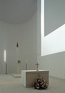 MONASTRY OF NOVY DVUR NOTRE DAME, CZECH REPUBLIC, JOHN PAWSON ARCHITECTS, INTERIOR, CHAPEL ALTAR