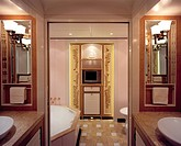 THE MITSEAAH, BAHAMAS, CARIBBEAN, LP ARCHITECTURE + YACHT DESIGN LTD, INTERIOR, MASTER BATHROOM