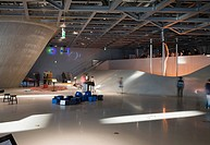 PHAENO SCIENCE CENTRE, WOLFSBURG, GERMANY, ZAHA HADID ARCHITECTS WITH MAYER BÄHRLE, INTERIOR
