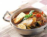Korean cooking _ soup, stew and table setting