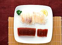 Japanese food sashimi, raw fish