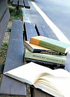 Book on the bench