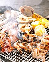 BBQ seafood