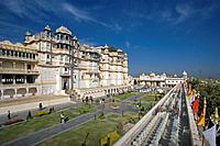 Rajastan. Udaipur City. The City Palace (Bansi Ghat). India.