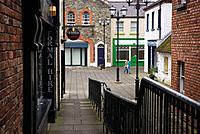 Derry Craft Village quarter. Derry (Londonderry). Ulster, Irland.