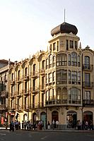 Buildings. Zamora. Spain.