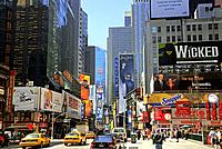 Times Square, Manhattan. New York City, New York, USA