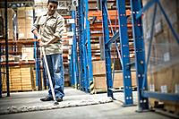 Warehouse Worker Sweeping (thumbnail)