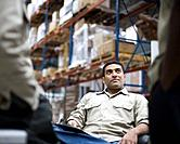 Warehouse Workers Talking
