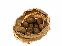 Paper bag of Potatoes