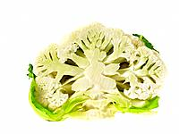 Half a head of Cauliflower