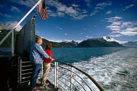 Viewing Prince William Sound AK State Ferry Bartlett SC