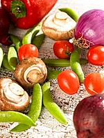 Close_up of vegetables on a table