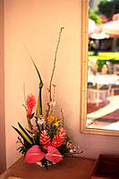 Flower Arrangement by the Wall, Differential Focus
