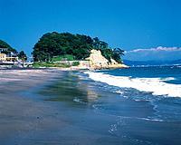 Inamuragasaki Cape, Shonan, Kanagawa Prefecture, Japan, Front View, Pan Focus