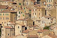 Italy, Tuscany, Sorano