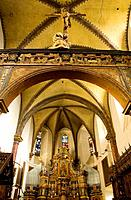Collegiate church of Sant´ Orso, Aosta. Val d´Aosta, Italy