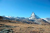 Switzerland, Europe, Canton Valais, Zermatt, Matterhorn, autumn, mountain, mountains, alps, alpine, landscape