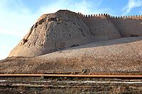 Uzbekistan, Central Asia, Khiva, City, architecture, oriental, wall, fort, town, UNESCO, World heritage site