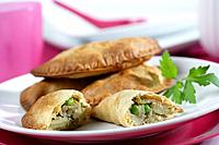 Vegetables pasties