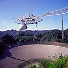 Arecibo observatory is the largest single_dish radio telescope part of the National astronomy and Ionosphere Center Puerto Rico