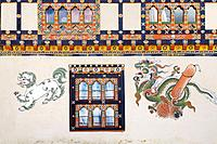 The phalluses painted on the Bhutanese homes are meant to bring fertility and protect the family from evil