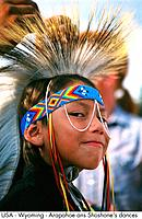 USA _ Wyoming _ Arapahoe ans Shoshone's dances